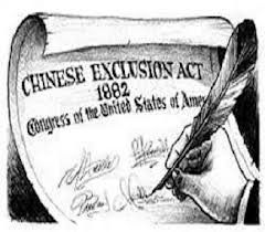 a history of the chinese exclusion act 1882 The chinese exclusion act was the first major law restricting immigration to the united states it was enacted in response to economic fears, especially on the west.